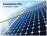 Solar Panel System PowerPoint template