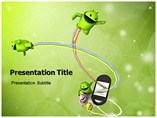 Android Phones powerpoint template