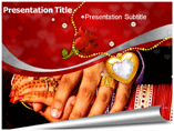 Indian Wedding Tradition powerpoint template