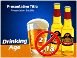 Drinking Age powerpoint template