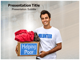 Working NGO powerpoint template