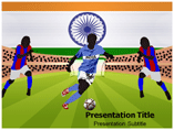 Competitive India powerpoint template