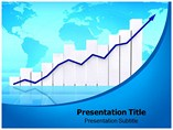 Finance Graph powerpoint template