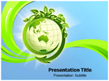 Green Earth Cleaning powerpoint template