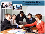 Cooperation powerpoint template
