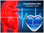 Heart Line powerpoint template