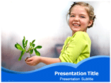 Concept Of Life powerpoint template
