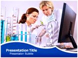 Biology Doctor powerpoint template