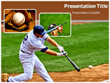 Baseball Leauge powerpoint template
