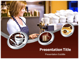 Coffee Grinder PowerPoint template