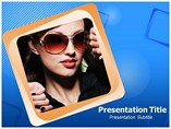 Model Stock PowerPoint template