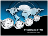 World Time PowerPoint Background