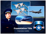 Air Force Portal powerpoint template