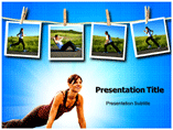 5 Most Effective Exercise powerpoint template
