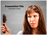 Hair Loss powerpoint template