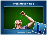 Asthama Myths powerpoint template