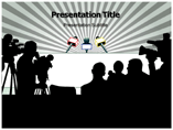 Media Work PowerPoint template