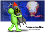 Future Nuclear Weapon powerpoint template