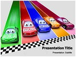 Natural Gas Car powerpoint template