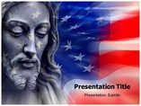 Jesus Standing- PPT Templates