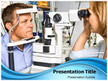 Eye care powerpoint template