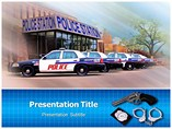 Police Station powerpoint template