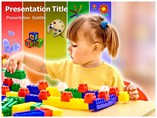 Pre-school Education powerpoint template