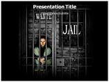 Jail House PowerPoint Template