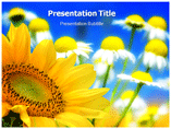 Flower Background powerpoint template