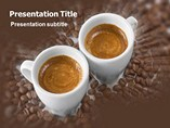 Powerpoint Background - Coffee Shop