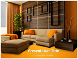 Interior Design Elements powerpoint template