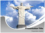Christ Clip Art PowerPoint template