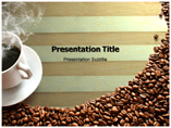 Coffee Makers PowerPoint template