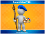 Painter powerpoint template