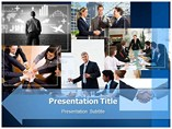 Business Meetings PowerPoint Theme