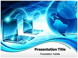 Global Computer Network powerpoint template