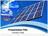 Solar Energy Power PowerPoint template