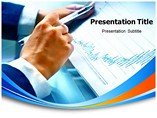 Business Report Annual Template PowerPoint