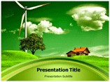 Nature Beauty Products PowerPoint template