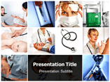 Doctor Identification powerpoint template
