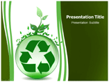 Global Recycling Template PowerPoint