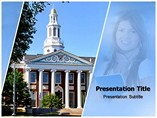 Harvard Business School powerpoint template