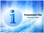 Informational powerpoint template