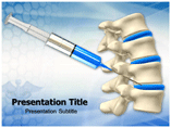 Disc Injection powerpoint template