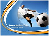 Football Shot powerpoint template