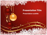 Powerpoint Templaes for Christmas Balls