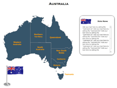 Australia (XML) PowerPoint map