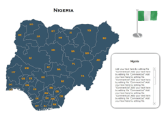 Nigeria Maps(XML) PowerPoint map