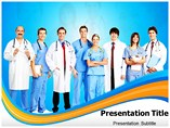 Doctor Team powerpoint template