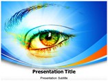 Eye effect powerpoint template